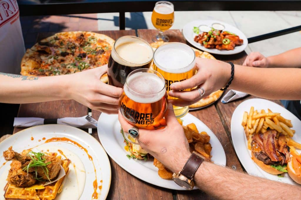 Craft Beer paired with Romanian Food