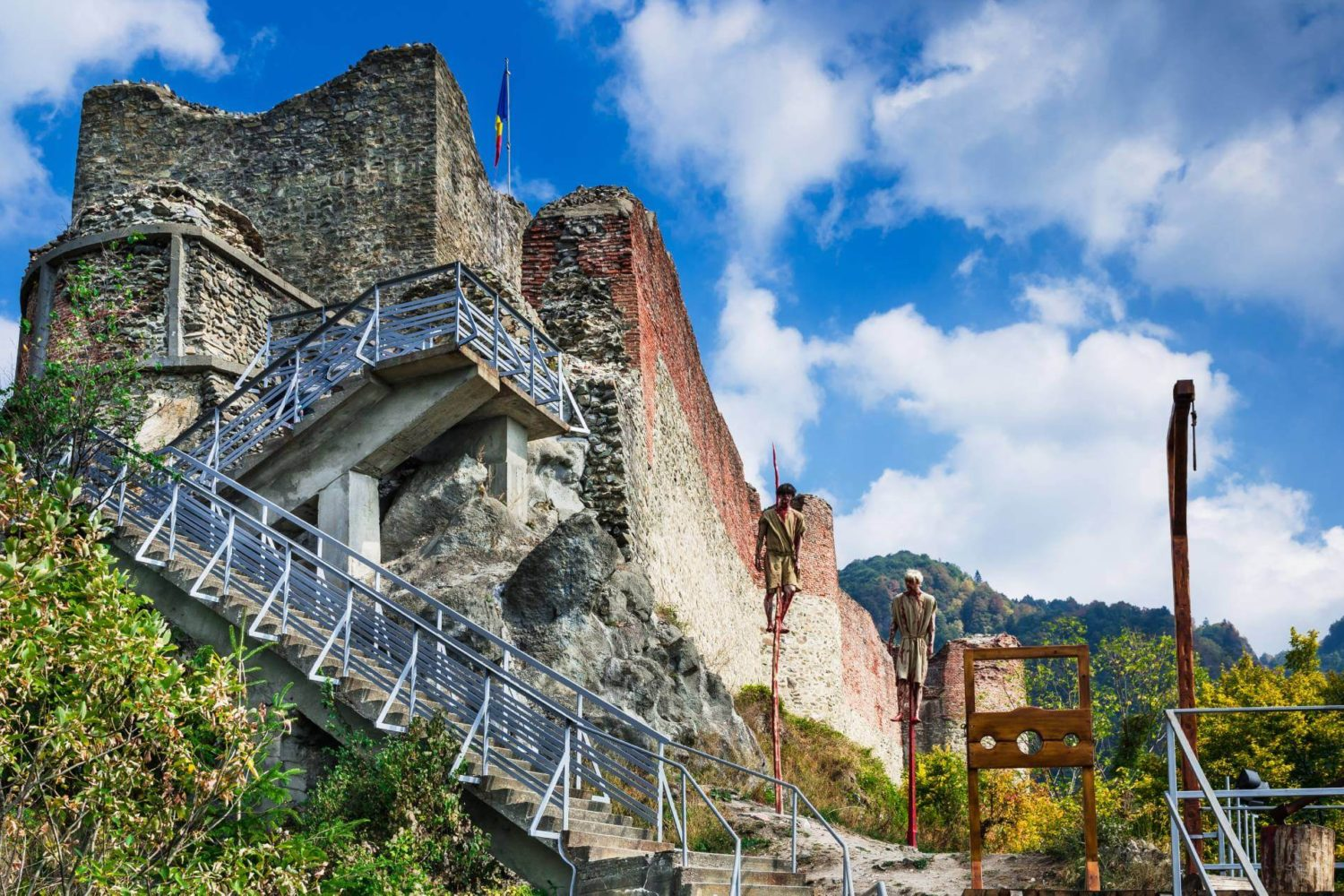 In the footsteps of Dracula Tour